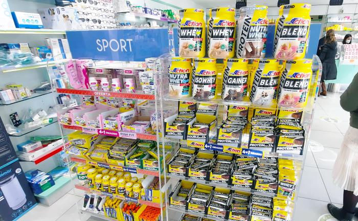 farmacia dei portuensi fiumicino reparto sport