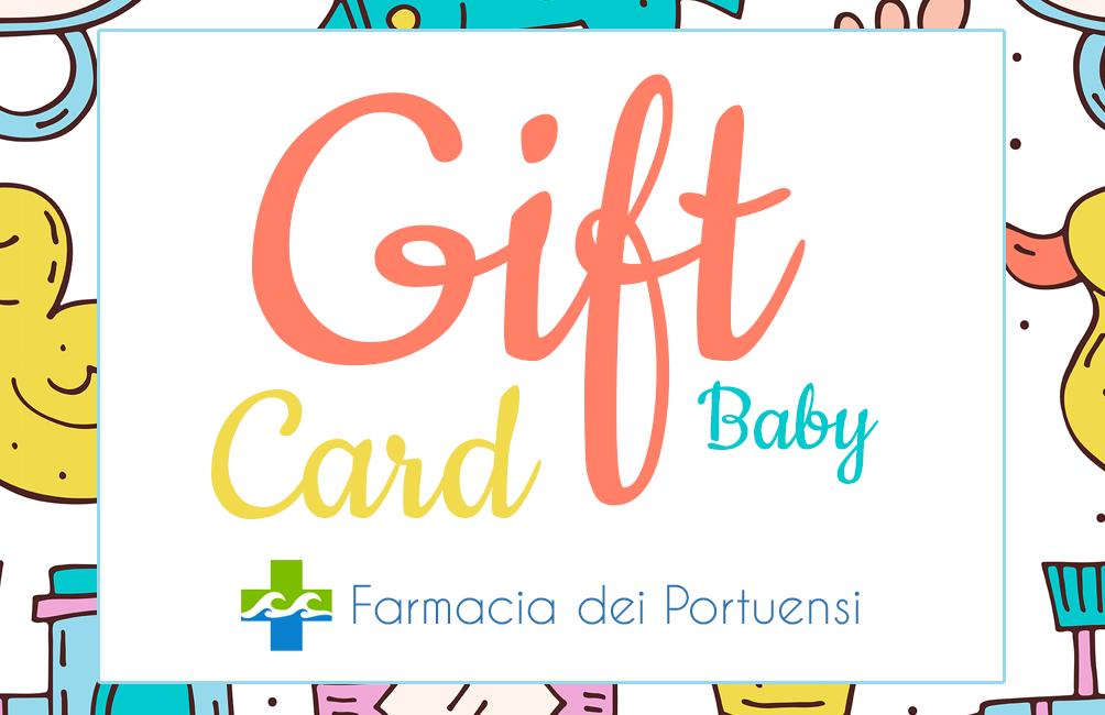 gift card baby farmacia dei portuensi fiumicino