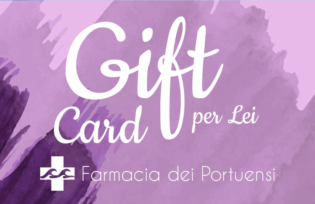 gift card lei farmacia dei portuensi fiumicino